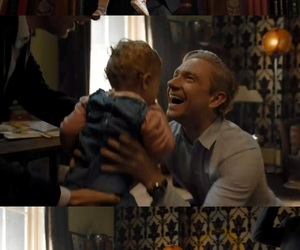 sherlock, baby, and bbc image