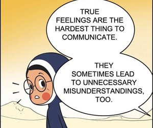 misunderstanding, webtoon, and truefeeling image