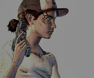 clementine, the walking dead the game, and game image