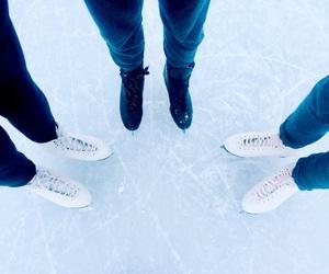 holiday, ice, and ice skating image