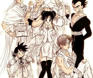 anime, goten, and dragon ball super image