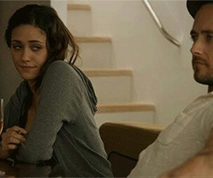 shameless, emmy rossum, and steve image