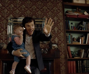 children, benedict cumberbatch, and johnlock image