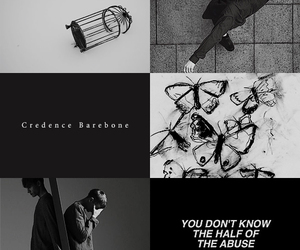aesthetic, fantastic beasts, and credence barebone image
