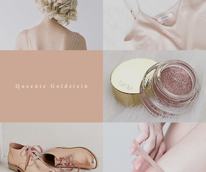aesthetic, queenie goldstein, and pink image