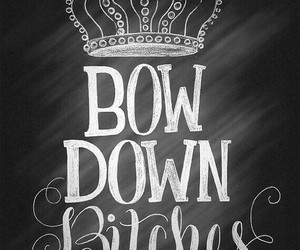 bow, bitch, and down image