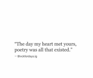 poetry and love image
