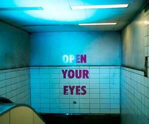 eyes, open, and grunge image