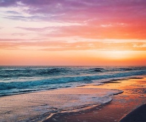 amazing, beach, and colors image
