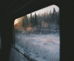 travel, winter, and snow image