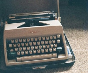 vintage, photography, and typewriter image