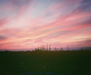 indie, landscape, and pink sky image