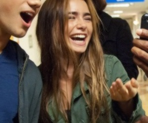 icon, lily collins, and lily image