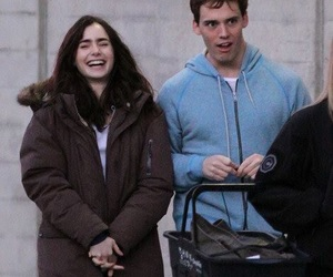 sam claflin, lily collins, and love rosie image