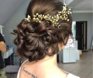 beauty, crown, and fashion image