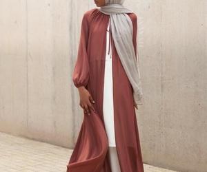 fashion, modest fashion, and hijab image