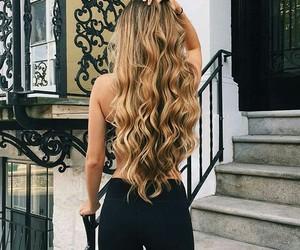 rubia, cabello, and pelo image