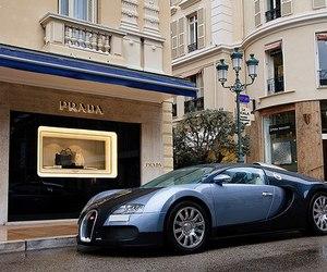 car, Prada, and luxury image