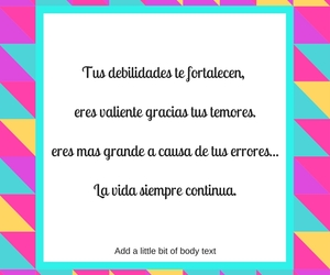 frases, palabras, and text image