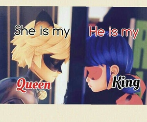 Chat Noir, ladybug, and anime quotes image