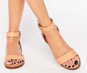 asos, flat, and Nude image