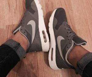 brand, grey, and nike image