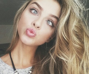 girls, blonde, and faces image