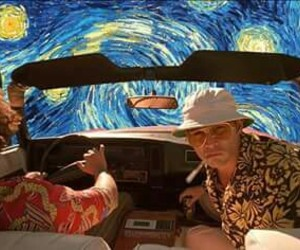 art, Fear and Loathing in Las Vegas, and johnny depp image