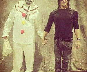 norman reedus, the walking dead, and ahs image