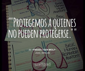 frases, teen wolf, and wattpad image