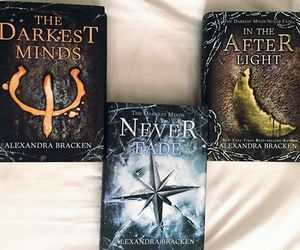 books, trilogy, and the darkest minds image