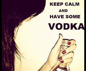 alcohol, hands, and vodka image