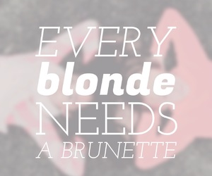 blond, blonde, and blondie image