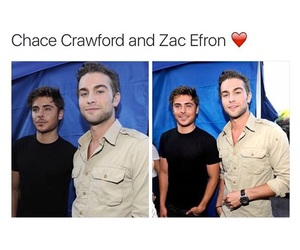 boys, chase crawford, and zac efron image