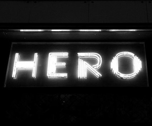 hero, aesthetic, and neon image