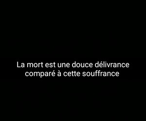 french, mort, and quotes image
