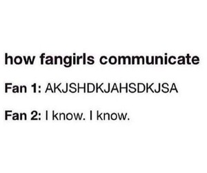 funny, fangirls, and fangirl image