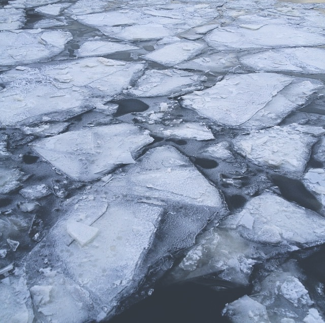 cold, ice, and water image