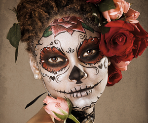 catrina, makeup, and Halloween image