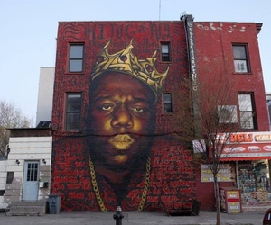 art, biggie smalls, and legend image