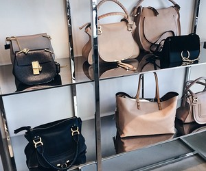 bags, luxury, and shops image