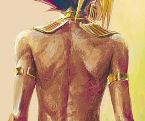 anime, fanart, and pharaoh image