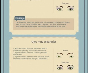 maquillaje, mujer, and tips image