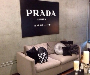 Prada, living room, and luxury image