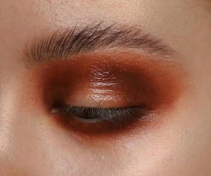 makeup, eyebrows, and style image