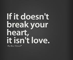 breaks heart love image