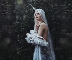 unicorn, fantasy, and unicorn girl image
