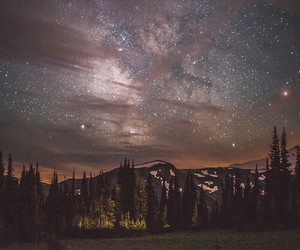 nature, sky, and night image