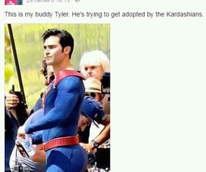 teen wolf, funny, and superman image