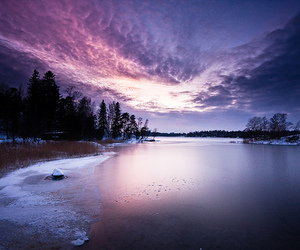 sky, photography, and snow image